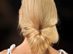 The Twisted ponytail 2012 http://girlyinspiration.com/