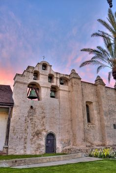 San Gabriel Mission by mykdelapaz, via Flickr built in 1771 was the fourth mission of the twenty-one missions built in California.