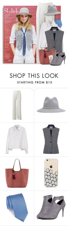 """""""Stylish - Like a boy"""" by breathing-style ❤ liked on Polyvore featuring Michael Kors, YOSUZI, Y's by Yohji Yamamoto, Atea Oceanie, Neiman Marcus, Canali and WithChic"""