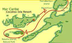 Cocoliso Isla Resort complex in Rosario Islands - Cartagena de Indias