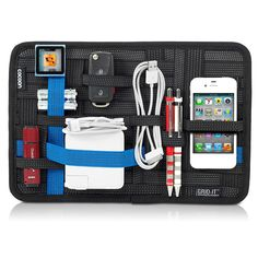 @zekesmith messy briefcase  Let Mom worry about one less thing with Cocoon's Grid-IT! Organizing System ($15), which neatly stores an i...