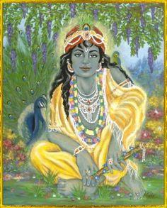 LORD SRI KRISHNA Radha Krishna Love, Radhe Krishna, Radha Rani, Indian Gods, Indian Art, Krishna Names, Love Is An Action, Lord Krishna Images, Krishna Painting