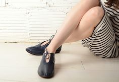 JOINERY - Leather Flats by Martiniano - WOMEN