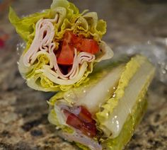Honey Bee's Food and Wine: Lettuce Wraps and Cups