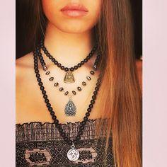 Wear Peace Mala Collection @ www.acompton.com Spiritual Jewelry, Fine Jewelry, Peace, Chain, How To Wear, Collection, Fashion, Fashion Styles, Fashion Illustrations