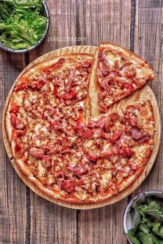 24 Ideas De Masa Para Pitzza Masa Para Pizza Hacer Macarrones Receta Macarrones