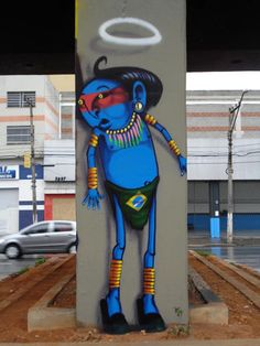 Cranio Graffiti artist from São Paulo, Brazil Search #Cranio here to see lots of fantastic work.
