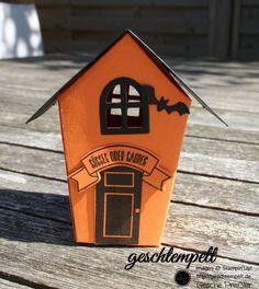 Spooky, Ein Haus für alle Fälle, Zu Hause, Halloween, Stampin up, Spooky Fun…