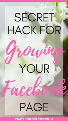 Secret Hack For Growing Your Facebook Page