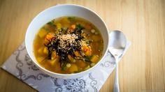 Vegan glutenfree Orange vegetable soup / wegańska bezglutenowa Pomarańczowa zupa warzywna