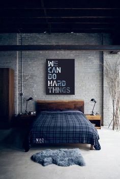 10 Astonishing Diy Ideas: Minimalist Home With Kids Book minimalist bedroom blue and white.Minimalist Decor Home Life minimalist bedroom diy studio apartments.Minimalist Living Room With Kids Bedrooms. Blue Bedroom Decor, Home Bedroom, Master Bedrooms, Bedroom Furniture, Plaid Bedroom, Bedroom Sets, Wooden Furniture, Industrial Furniture, Blue Bedrooms