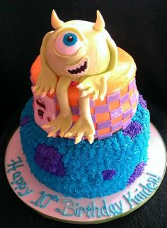 Monsters inc cake!