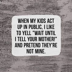 This is officially my FAVORITE #parentingmeme of ALL time. So funny! HA! ⠀ ⠀ |