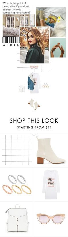 """""""""""What is the point of being alive if you don't at least try to do something remarkable?"""" ~  John Green"""" by miky94 on Polyvore featuring moda, Isabel Marant, ASOS, See by Chloé, Le Specs e Estradeur"""