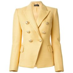 Shop for Classic Blazer by Balmain at ShopStyle. Balmain Jacket, Balmain Blazer, Coats For Women, Jackets For Women, Scottish Clothing, Double Breasted Jacket, Classy Outfits, Tweed, Blazers