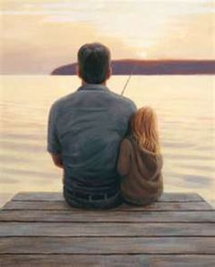 I have always loved fishing with my Daddy... No matter how old I get