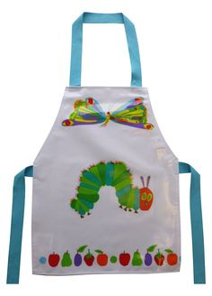Very Hungry Caterpillar Apron by Shreds