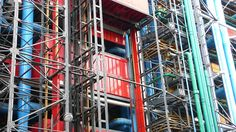 Pompidou Centre building technology - Centre Georges Pompidou - Wikipedia