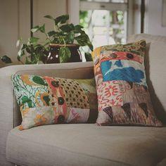 ~ Upcycled Sari Pillows ~ Fair Trade and Handmade