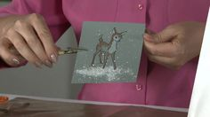 How to Create Snow for Paper Crafts. On today' Tip Of The Day we have Fran Sieford with Stampendous sharing a great technique to use anytime...