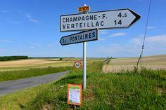 Biking in Champagne, France