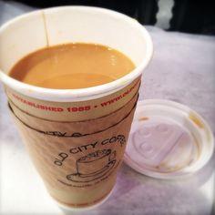 A cup of joe!