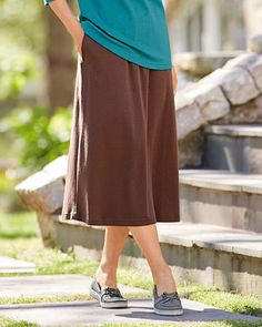 National's UltraSofts Skirts are made of fine quality knit that lasts wash after wash, available in special sizes. Knit Skirt, Midi Skirt, Lacy Bra, Classic Skirts, Hosiery, Lounge Wear, Classic Style, Shopping Bag, Lingerie