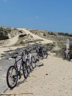 Virée à la plage à vélo... dans le Bassin d'Arcachon en Gironde