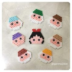 Snow White perler beads by  ganmo2004
