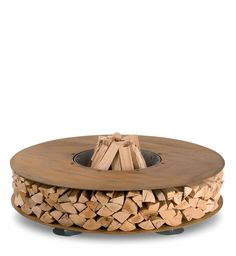 this rusty and functional fire-pit is called Zero... by sonya