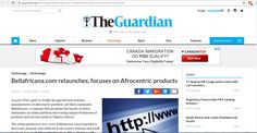 Bellafricana relaunch featured on The Guardian