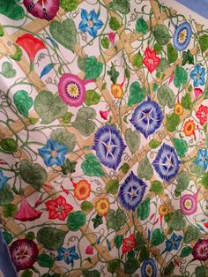 Your place to buy and sell all things handmade Flora Vintage, Vintage Colors, Vintage Items, Gucci Scarf, Vintage Scarf, Vintage Gucci, Silk Scarves, Scarf Styles, Quilts