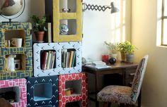 Brick  Objetos para el hogar conjugando tres conceptos: multifuncionalidad, decoración y sustentabilidad.   http://charliechoices.com/brick/