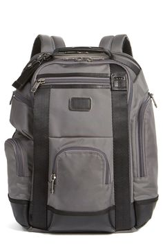 253334c30 'Shaw Deluxe' Water Resistant Backpack Tumi Backpack, Travel Essentials,  Men's Fashion,