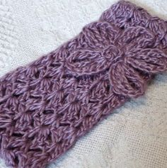 Cluster Headband with Daisy ~ free pattern