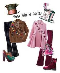 """Mad Hatter!! ^_^"" by krgood7 ❤ liked on Polyvore featuring Zimmermann, Marc Jacobs, Monsoon, Old Navy, Christian Louboutin, Forever 21, Wonderland, madhatter and ivegonemad"