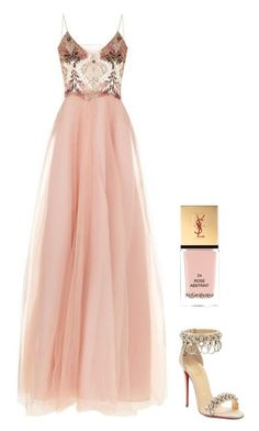 """Sans titre #3649"" by noonewilleverknow ❤ liked on Polyvore featuring Patricia Bonaldi, Christian Louboutin and Yves Saint Laurent"