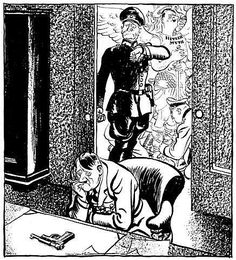 PICTURES FROM WAR AND HISTORY: World War Two In Cartoons By ILLINGWORTH