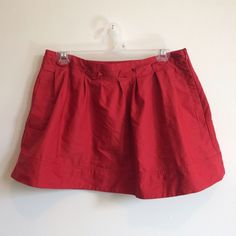 Express Miniskirt This great red miniskirt is pleated all around with a paper bag-style waist & a zipper up one side. Bundles get 10% off. Express Dresses