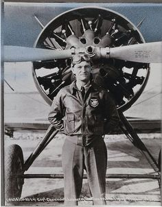 """September 6, 1893: Claire Chennault, American pilot famous for commanding the """"Flying Tigers"""" during World War II, was born."""