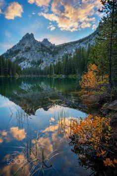 Nada Lake Sunset (Washington) by Erwin Buske on 500px