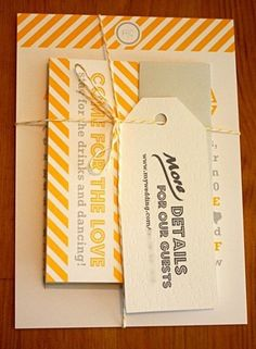 CT-Designs Calligraphy and Wedding Stationery: Tie it Up With String