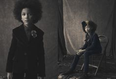 Bonnie Young fall 2013 lookbook, a strong collection for kidswear from this NYC designer