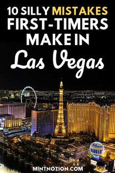 Planning a trip to Las Vegas? Avoid making these common tourist mistakes on the Vegas Strip. Use these Vegas tips to save money on things to do in the city so you can enjoy your Vegas vacation for cheap! Vegas travel guide for first time visitors Las Vegas Vacation, Visit Las Vegas, Trips To Las Vegas, Cheap Vegas Trip, Las Vegas Travel, What To Pack For Las Vegas, Utah Vacation, Yellowstone Vacation, Usa