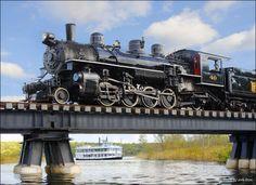 Essex Steam Train and Riverboat, Essex, Connecticut