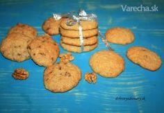 Obľúbené sušienky si jednoducho pripravíte aj doma z dostupných surovín. Crinkles, Healthy Recipes, Healthy Food, Muffin, Cookies, Breakfast, Basket, Bebe, Healthy Foods