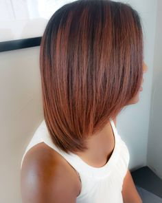 The perfect Autumn Color for This is color melting done right! This color is long lasting, it only needs to be touched up every 8 to 12 weeks. Best color for Fall, Highlights, African Amer