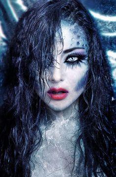 # Makeup 2018 15 Witch Halloween Make-up Looks for Girls and Women 2018 # 15 . - Fairytail looks - halloween schminke Mermaid Fantasy Makeup, Mermaid Makeup, Mermaid Costume Makeup, Dark Fantasy Makeup, Sfx Makeup, Makeup Art, Makeup Themes, Makeup Ideas, Makeup Designs