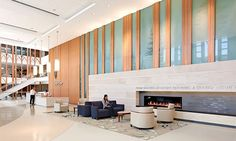 TK Architects - Duke Medicine; great example of hospitality design making its way into healthcare design.