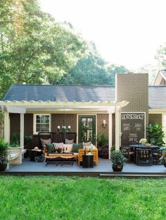 Fall-Perfect Patio Makeover